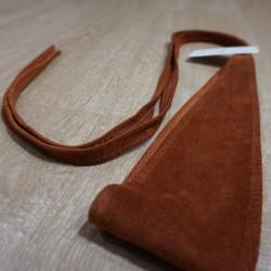 Cinturón fajín piel