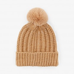 Gorro pompom con brillo Pieces