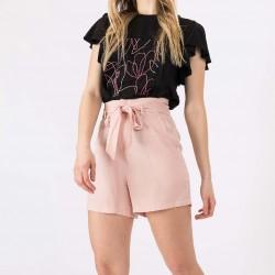 Short rosa con lazo Tiffosi